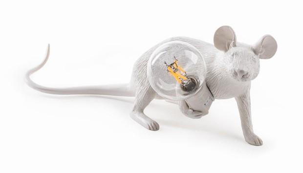 Luminária emforma de rato (Foto: Divulgação)