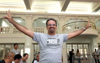 Marcelo Guimarães, Candidato Botafogo (Foto: Satiro Sodré / SSpress)