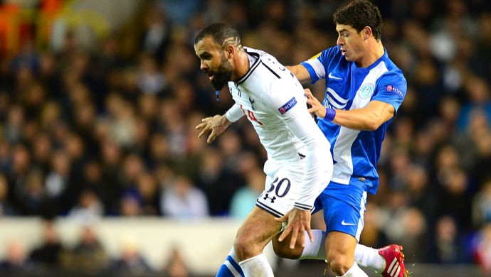 Liga Europa Sandro e Giuliano (Foto: Getty Images)