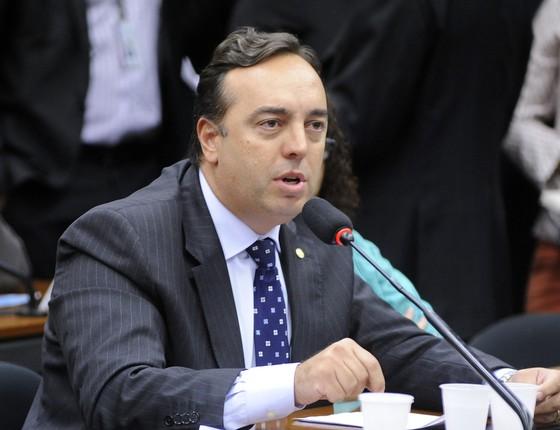 O deputado Fernando Francischini (SD-PR), conhecido como Delegado Francischini (Foto: Alex Ferreira / Câmara dos Deputados)