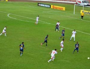 jogo são carlos rondonópplis copa são paulo (Foto: Nikolas Capp/Globoesporte.com)