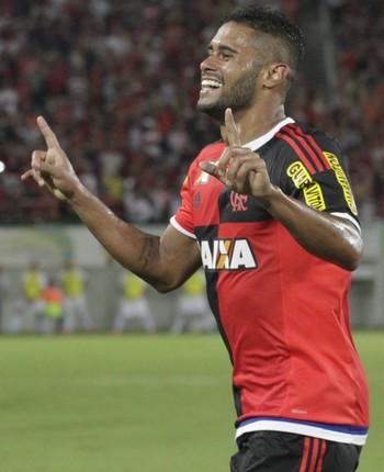 Kayke comemora gol Flamengo (Foto: Gilvan de Souza/ Flamengo oficial)