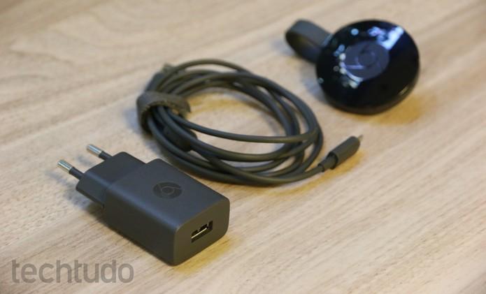 chromecast (Foto: Caio Bersot/Techtudo)