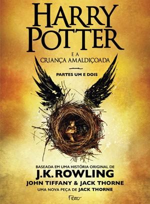 Capa do livro 'Harry Potter e a criança amaldiçoada' (Foto: Divulgação)