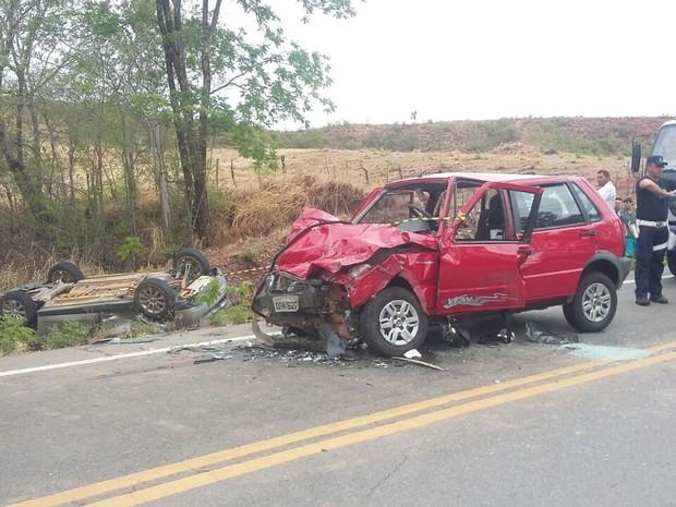 Idoso morreu em consequência de acidente ocorrido no Crato, no interior do Ceará (Foto: Biana Alencar/TV Verdes Mares)