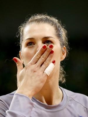 Babi handebol brasil (Foto: Getty Images)