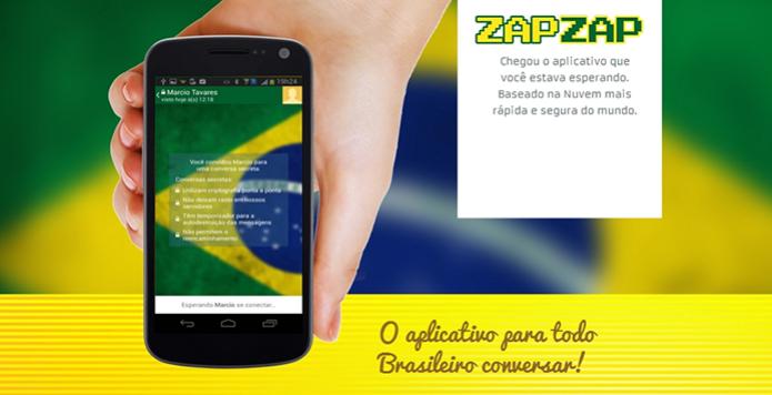 Zapzap, o WhatsApp brasileiro, opera dentro da legalidade graças ao código fonte publicado nesta terça-feira (3) (Foto: Reprodução/Zapzap) (Foto: Zapzap, o WhatsApp brasileiro, opera dentro da legalidade graças ao código fonte publicado nesta terça-feira (3) (Foto: Reprodução/Zapzap))