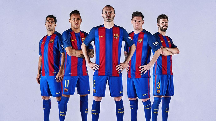 OFICIAL  Novo uniforme titular do Barcelona. (Nike) f4774a83228e3