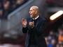 """Zidane evita euforia após o clássico:  """"Não é empate com sabor de vitória"""""""