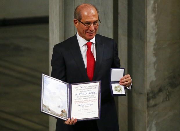 Nobel da paz (Foto: Tobias Schwarz/Reuters)