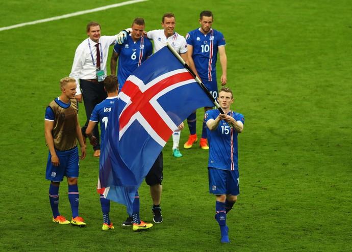 Jon Bodvarsson Islândia Eurocopa 2016 (Foto: Getty Images)