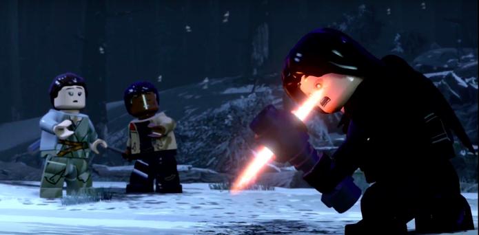 Star wars the force awakens lego (Foto: Divulgação/Sony)