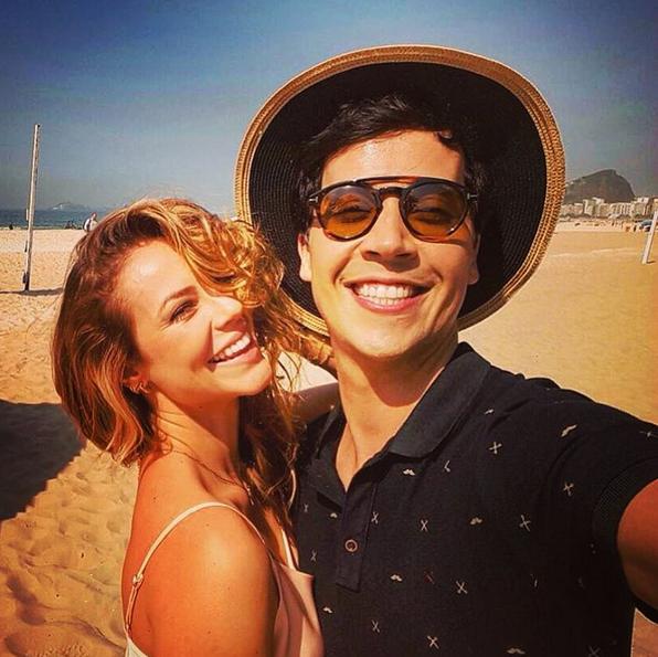 Paolla Oliveira e Arlindo Lopes (Foto: Reprodução/Instagram)