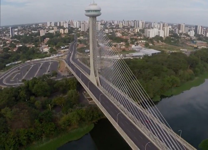 Teresina é a cidade homenageada no 'Telão do Domingão' (Foto: Gshow)