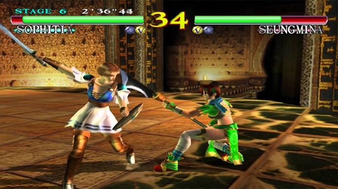 Soul Calibur foi um grande marco gráfico em seu lançamento no Dreamcast (Foto: Reprodução/YouTube)