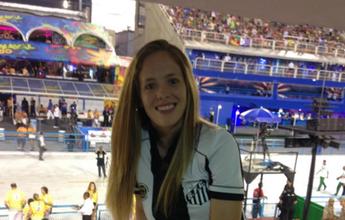 BLOG: Desfile das Sereias: jogadoras do Santos fazem a festa na Sapucaí; veja fotos