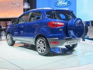 Ford EcoSport (Foto: Luiz Fernando Ramos/G1)