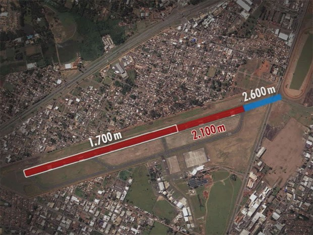 Projeto descumpre acordo judicial que limita ampliação de pista, diz MP (Foto: Reprodução EPTV)