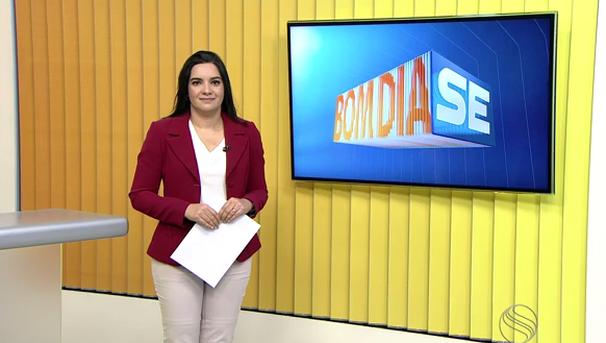 Lanne Pacheco apresenta o Bom Dia Sergipe durante o mês de setembro (Foto: Divulgação / TV Sergipe)