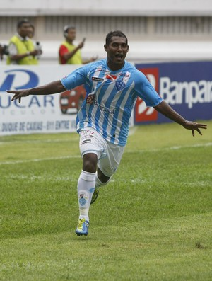 joão Neto atacante Paysandu (Foto: Marcelo Seabra/O Liberal)