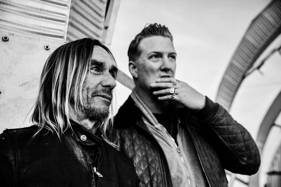 Relao entre Iggy Pop e Joshua Homme  destaque em 'American Valhalla' (Foto: Divulgao)