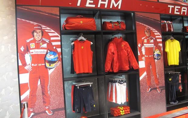 Felipe Massa inaugura Ferrari Store no Rio de Janeir (Foto: Tulio Moreira / Globoesporte.com)