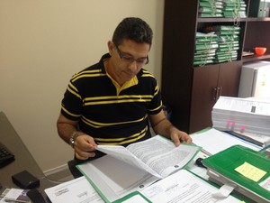 Afonso Guimarães, promotor de justiça (Foto: Dyepeson Martins/G1)