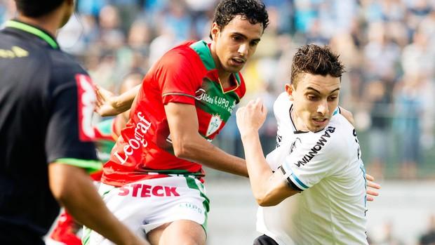Diogo jogo Portuguesa e Grêmio (Foto: Futura Press)