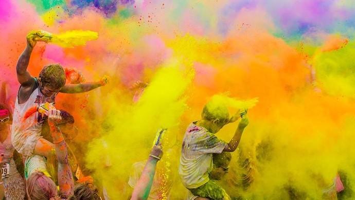 Run or Dye acontece pela 1ª vez em Roraima (Foto: Divulgação/Facebook)