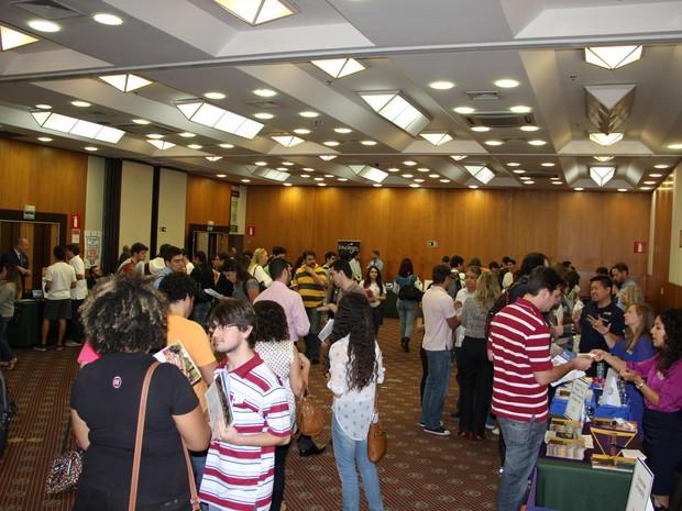 Feira internacional vai reunir representantes de 15 universidades americanas  (Foto: Donald Occhiuzzo )