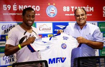 Lateral Tinga explica apelido e justifica demora para ser anunciado pelo Bahia
