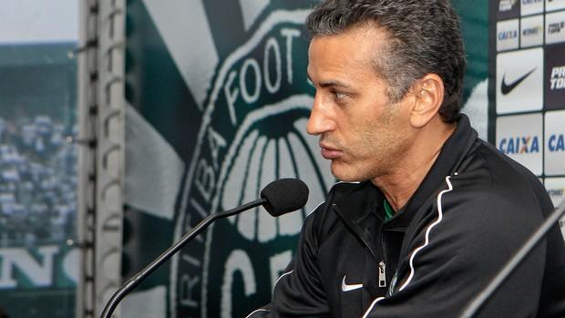 Péricles Chamusca Coritiba (Foto: Divulgação / Site oficial do Coritiba)