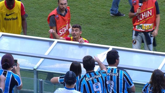 Alex Gre-Nal Grêmio Arena Campeonato Gaúcho (Foto: Reprodução/RBS TV)