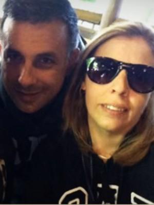 O tenente-coronel do Exército e a mulher dele Cristiana Cerqueira (Foto: TV Globo/Reprodução)