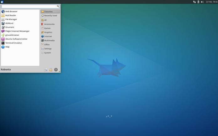 Xubuntu apresenta mistura de leveza com agilidade, graças à interface Xfce (Foto: Divulgação/Xubuntu)