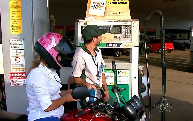 Gasolina chega a custar R$ 4,10 em Rio Branco (Foto: Bom Dia Amazônia)