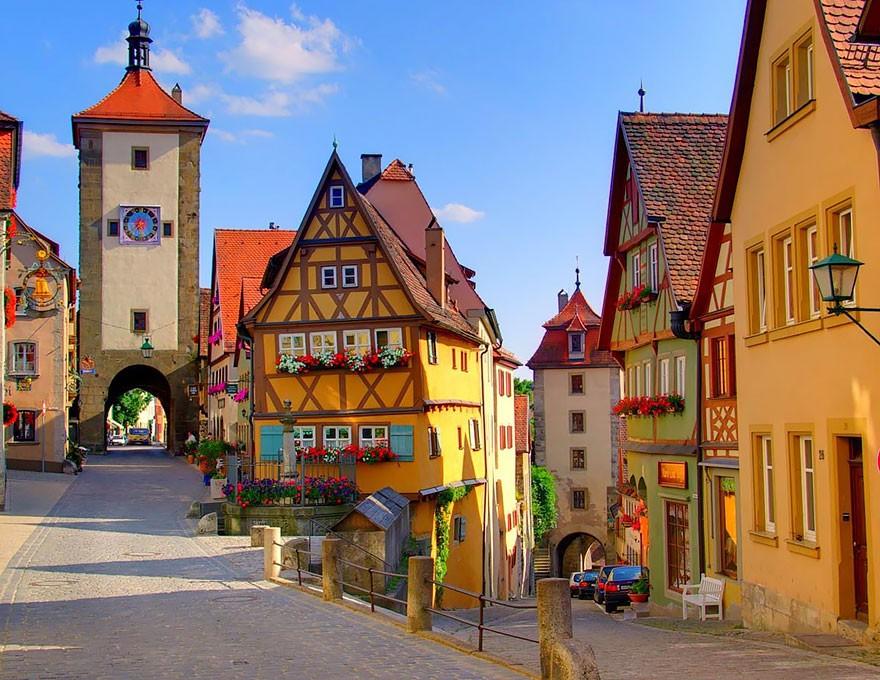 Rotemburgo, na Alemanha (Foto: Divulgação)