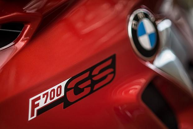 Nova BMW F700 GS  (Foto: Divulgação)