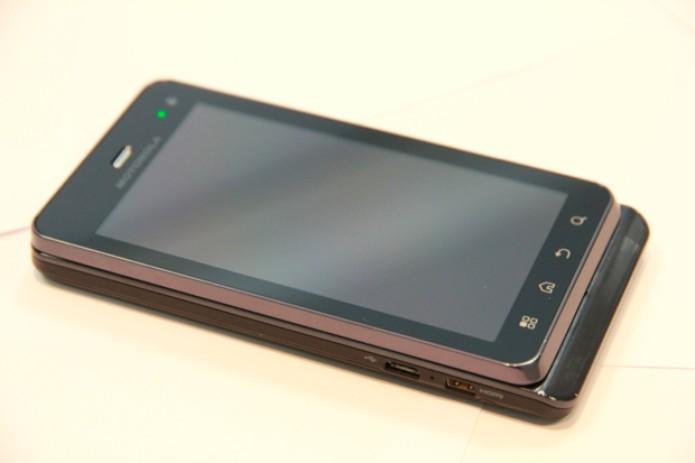 Motorola Milestone 3 (Foto: Allan Melo/TechTudo)
