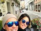 Wesley Safadão posta foto juntinho com Thyane Dantas em viagem