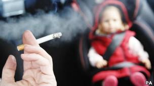 Técnica age em duas partes do cérebro associadas ao vício à nicotina (Foto: PA/BBC)