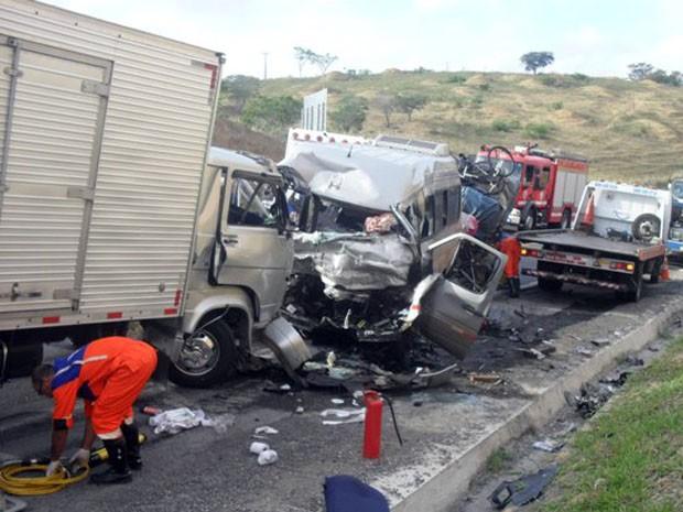 Acidente na Bahia (Foto: Fabiano dos Santos/Binho Locutor)