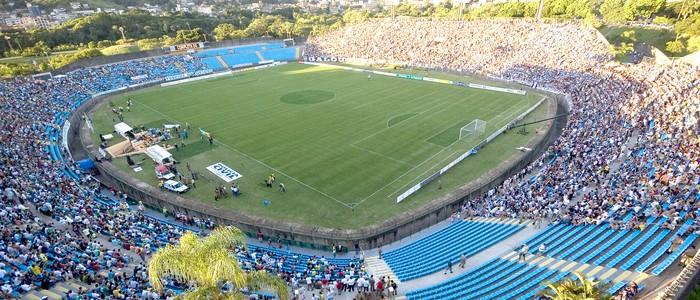 Segundo a administração do Ipatingão, o estádio não está em condições de receber partidas oficiais. (Foto: Assessoria da prefeitura de Ipatinga)