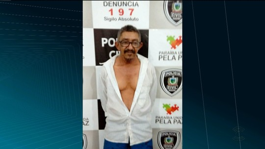 Aposentado é preso suspeito de estuprar neta no Sertão da Paraíba