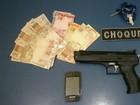 Suspeito de roubos é baleado em perseguição policial na capital de MS