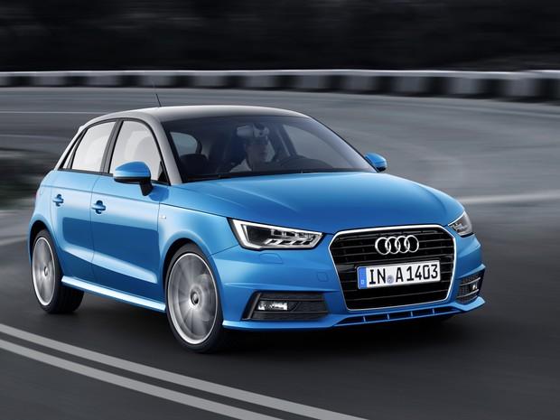 Audi A1 estreia motor 1.0 de 3 cilindros (Foto: Divulgação)