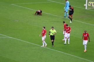 Andrigo, meia do Inter, árbitro, gol, Sport (Foto: Tomás Hammes/GloboEsporte.com)