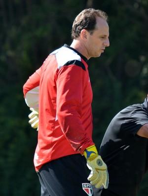 Rogério Ceni, Juan Carlos Osorio e Doria em treino do São Paulo (Foto: Érico Leonan / saopaulofc.net)