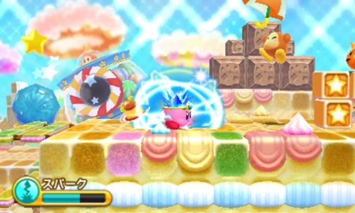 Triple Deluxe conta com bonitos e dinâmicos cenários (Foto: Reprodução/Nintendo Magazine)