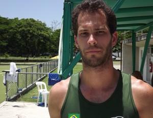 Chris, hoquei sobre grama (Foto: Gabriel Torres / GloboEsporte.com)